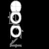 Bath Duck Wc-Ülőke - Családi - Gyermek És Felnőtt Használatra - Réz Zsanérokkal - MDF - Fa Hatású - 6