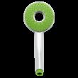 Bath Duck Zuhanycső - Pvc - 150cm - Zöld + Ajándék Zuhanyfej