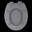Bath Duck Wc-Ülőke - Mdf - Mintás - Műanyag Zsanérokkal - 3 Vizes Felület