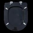 Bath Duck Wc-Ülőke - Mdf - Cink Zsanérokkal - Fekete - 1