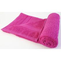 Magic Home Színes Törölköző 50x90cm - Pink (Ciklámen)