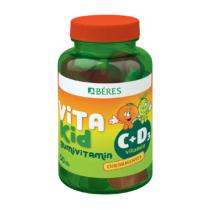 Béres Vitakid C+D Gumivitamin Gumitabletta 50db