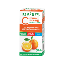 Béres C KOMPLEX 1000 Mg C+D+Zn Ftbl. Bioflavonoiddal 50db