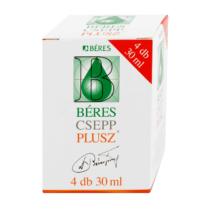 Béres Csepp Plusz 4x30ml