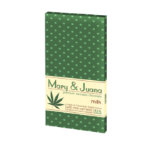 Mary&Juan Cannabis Chocolate Milk 80g (Tejcsokoládé)