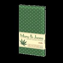 Mary&Juan Cannabis Chocolate Milk 80g (Tejcsokoládé)