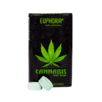 Euphoria Cannabis Mint Drops 25g (Cukorka)