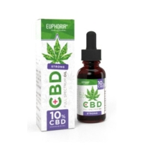 Euphoria Cannabis Olaj 10ml CBD 10%