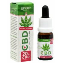 Euphoria Cannabis Olaj 10ml CBD 20%