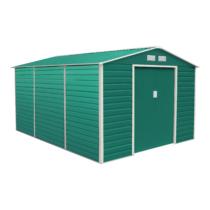 G21 Kerti Ház / Tároló - Fém - Zöld - 340x382cm (GAH 1300)