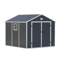G21 Kerti Ház / Tároló - Műanyag - Szürke - 241x278cm (PAH 670)