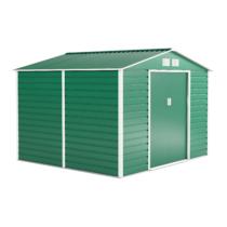 G21 Kerti Ház / Tároló - Fém - Zöld - 277 x 255cm GAH 706