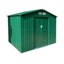 G21 Kerti Ház / Tároló - Fém - Zöld - 251x171cm (GAH 429)