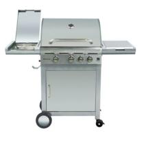 G21 California BBQ Premium Line Grill, 4 Égőfej + Ajándék Grillező segédeszköz szett 3 db (6390305)