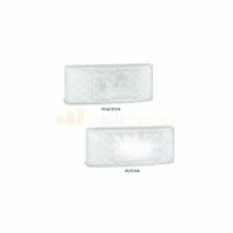 LED Autolamps EU38AM Oldalsó Jelző Lámpa - Fehér