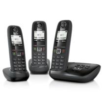 Gigaset AS405A Trio Halózati Telefon Szett 3db Készülékkel