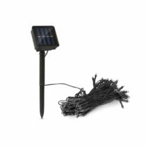 Garden of Eden LED-es szolár fényfüzér - 50 db színes LED - 2 funkció - 5+2 m