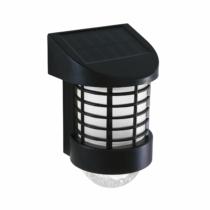 Garden of Eden LED-es szolár fali lámpa - melegfehér - fekete - műanyag