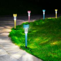 Garden of Eden LED-es szolár lámpa - hidegfehér - műanyag