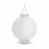 Garden of Eden Szolár lampion - fehér - hidegfehér LED - 21 cm
