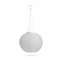 Garden of Eden Szolár lampion - fehér - hidegfehér LED - 28 cm