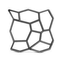 Garden of Eden Műanyag térkősablon - kőminta - 50 x 50 x 4,5 cm