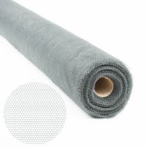 Delight Szúnyogháló hengeres kiszerelés - vágható - 150 cm x 30 m - Szürke
