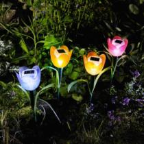Garden of Eden LED-es szolár tulipánlámpa