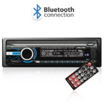 Carguard MP3 lejátszó Bluetooth-szal, FM tunerrel és SD / MMC / USB olvasóval