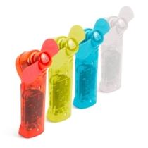 Delight Kézi ventilátor nyakpánttal - 4 színben - AA elemes