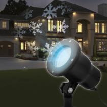 Phenom LED projektor leszúrótüskével - hópehely - IP44 - 240 V