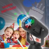 Phenom Elemes LED projektor - születésnap, karácsony, halloween - IP20