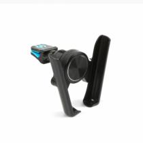 MNC Telefontartó - szellőzőrácsra rögzíthető - fekete