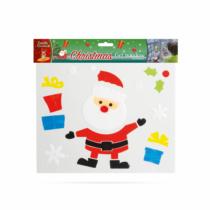 Family Christmas Zselés ablakdekor - karácsonyi - XXL