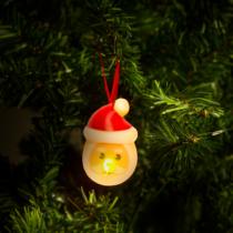 Family Christmas LED teamécses - mikulás - 2 db / csomag