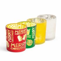 Family Christmas Karácsonyi teamécses pohár - 4 féle