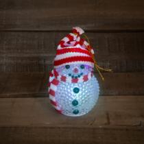 Family Christmas LED-es hóember