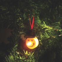 Family Christmas LED teamécses - hóember - 2 db / csomag