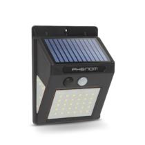 Phenom Mozgásérzékelős szolár reflektor - fali - 40 LED