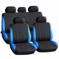 Carguard Autós üléshuzat szett - kék / fekete - 9 db-os - HSA001