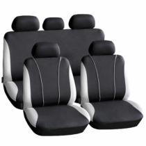 Carguard Autós üléshuzat szett - szürke / fekete - 9 db-os - HSA003