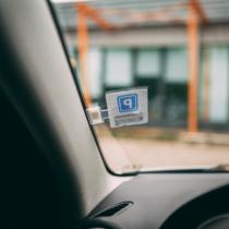 MNC Autós parkolójegy tartó - öntapadós