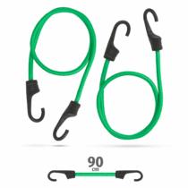MNC Professzionális gumipók szett - zöld - 90 cm x 8 mm - 2 db / csomag