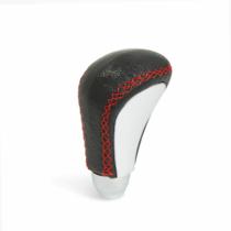 MNC Univerzális bőr váltógomb - fekete / piros