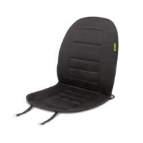 MNC Fűthető autós ülésvédő - szivargyújtó dugóval - fekete