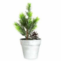 Family Christmas Műfenyő - mini - ezüst - 20 cm
