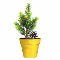 Family Christmas Műfenyő - mini - arany - 20 cm