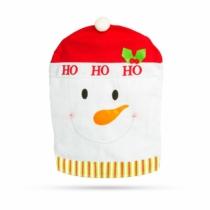 Family Christmas Székdekor - hóember