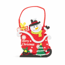 Family Christmas Filc ajándéktáska