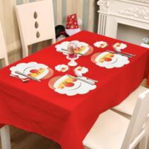 Family Christmas Tányér- és poháralátét - mikulásos - 8 db